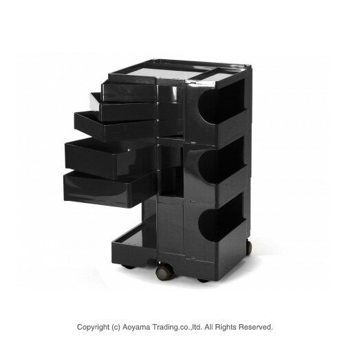[3点購入で5%OFFクーポン]ボビーワゴン 3段5トレー ブラック【正規品・インナートレイ・保証書・シリアルナンバー付き】 BOBY WAGON(3段5トレイ) B-LINE(ビーライン B LINE) 送料無料