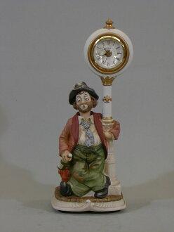 滨松市乐器时钟时钟后威利红色夹克古董钟表