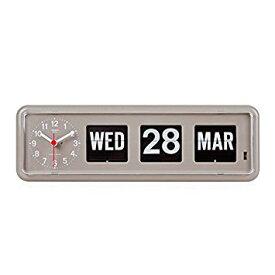 TWEMCO社クロック(BQ-38)グレー 置き時計 送料無料