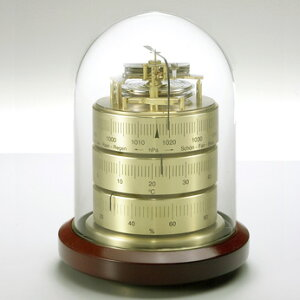 BARIGOバリゴ温湿気圧計ベースウッドBG3026 温湿度計 気圧計 送料無料
