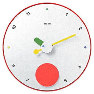 意大利 REXITE 所需的时钟魂斗罗节奏 [白色] 时钟 (时钟) 摆时钟 (祖父时钟)