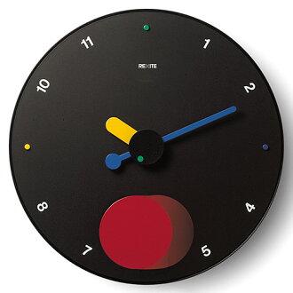 意大利 REXITE 公司必要钟,魂斗罗-节奏 [黑色] 时钟 (时钟) 摆时钟 (摆时钟)
