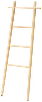 NEW! Dress type Asahikawa craft engineering Atrium cosine (cosine) ladder rack DR-13CM walls lean wooden rack (corrugated) fs3gm
