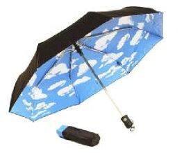 MoMA 折りたたみ スカイアンブレラ 折り畳み傘 ワンタッチ傘 折りたたみ傘 折り畳みスカイアンブレラ 自動開閉傘 雨傘