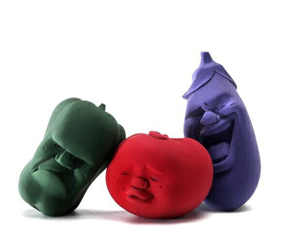 [スマホエントリーでポイント最大14倍]カオマル ベジタブル [トマト・エッグプラント・グリーンペッパー] 顔丸 caomaruアッシュコンセプト