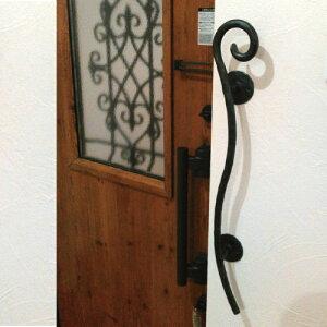 C【解決!】これで白い壁も汚れません♪オリジナルアイアン手すり【太芯タイプ】手すり 縦 縦型 横型 横受け 縦付け 階段 ロートアイアン 玄関手すり 手すり おしゃれ 上がり框 ドア イン