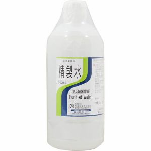 【第3類医薬品】《大洋製薬》 日本薬局方 精製水 (500mL)