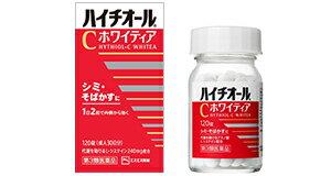 【第3類医薬品】《エスエス製薬》 ハイチオールCホワイティア 120錠