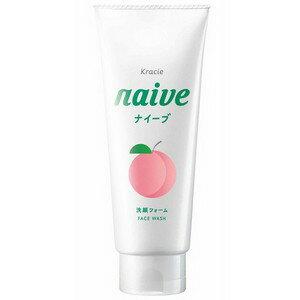 《クラシエ》 ナイーブ(naive) 洗顔フォーム 桃の葉エキス配合 130g