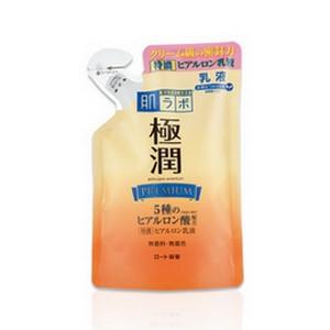 《ロート製薬》肌ラボ極潤プレミアムヒアルロン乳液つめかえ用140ml