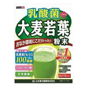 《山本漢方製薬》乳酸菌大麦若葉ステックタイプ(4g×15包)