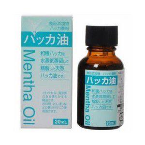 《大洋製薬》 食品添加物 ハッカ油 (20mL)