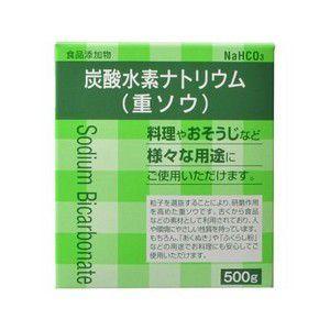 《大洋製薬》 食品添加物 炭酸水素ナトリウム(重曹) 500g