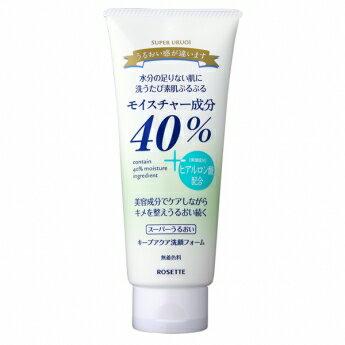 【ロゼット】40%スーパーうるおいキープアクア洗顔フォーム(168g)