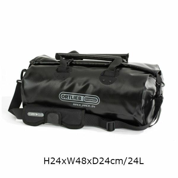 オルトリーブ(ORTLIEB) ラックパック ダッフルバック 18SS ブラック H24xW48xD24cm 24L or-k61-bk/s