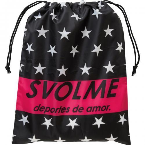 スボルメ(SVOLME)スターシューズ袋【DM便OK】サッカー/フットサル/バッグ/010.BLACK(17SS)[171-26529-BLACK]