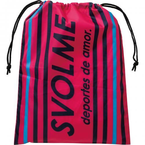 スボルメ(SVOLME)ストライプシューズ袋【DM便OK】サッカー/フットサル/バッグ/070.PINK(17SS)[171-26629-PINK]