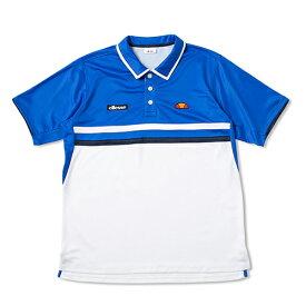 エレッセ(ellesse)TEAMポロシャツゲームシャツ/ゲームウエア/メンズ/男性用/テニス/ヘリテージブルー(17SS)[ETS07000-HB]【SS1912】【DEAL】【P50904】