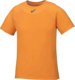 【ネコポスOK】アシックス(asics)ゲームシャツM ATHLETE COOLING TOPテニス/半袖Tシャツ/4大大会着用予定カラー/オレンジポップ(17ss)[142327-0524]【SS1909】【DEAL】【P50904】