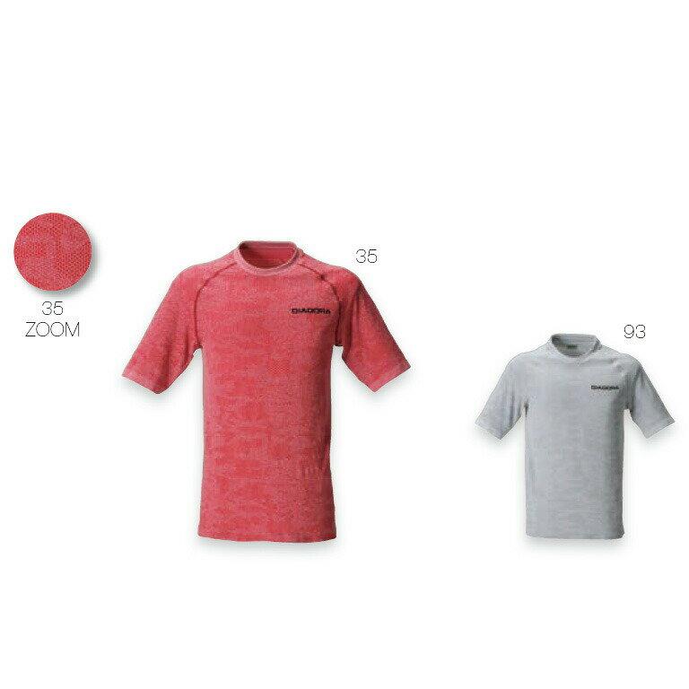 【ネコポスOK】ディアドラ(DIADORA)ELITE TECH プラクティスシャツ(TP6583)35:レッド●テニス/半袖Tシャツ(1611)16fw