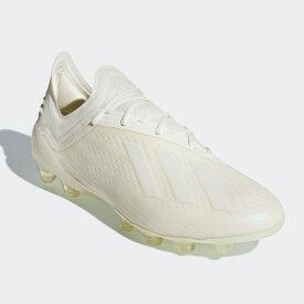 アディダス(adidas)エックス18.1 HG/AGサッカースパイク メンズ (18aw)オフホワイト/ランニングホワイト/コアブラックAP9939【0925】