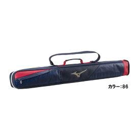 ミズノ(mizuno) グローバルエリート GEバットケース2本入れ バッグ (20ss) ネイビー×レッド L92×W9×H11cm 1fjt041186