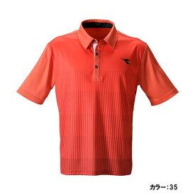 ディアドラ(diadora) ゲームシャツ シャツ メンズ (19ss) レッド dtg9332-35