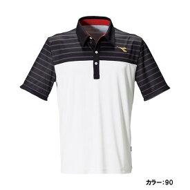 ディアドラ(diadora) ゲームシャツ シャツ メンズ (19fw) ホワイト 吸汗速乾 dtg9386-90