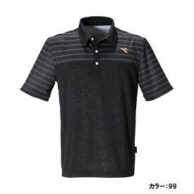 ディアドラ(diadora) ゲームシャツ シャツ メンズ (19fw) ブラック 吸汗速乾 dtg9386-99