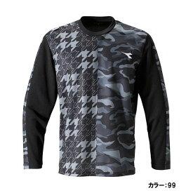 ディアドラ(diadora) ロングスリーブシャツ シャツ メンズ (19ss) ブラック dtp9532-99