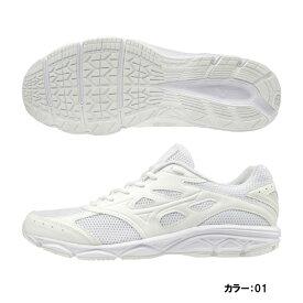 ミズノ(mizuno) マキシマイザー 21 シューズ ユニセックス メンズ レディース ホワイト 3E EEE k1ga190201