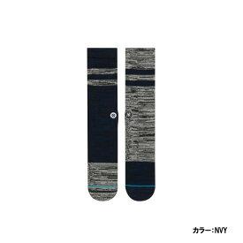 スタンス(STANCE) YANKEES GREYSTONE ヤンキース ソックス メンズ NAVY ネイビー 25.5-29.0cm m556a17gya-nvy