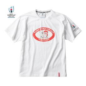 ラグビーワールドカップ2019(TM)日本大会 カンタベリーオフィシャルライセンス商品 カンタベリー(canterbury) RWC2019 レンジーティーシャツ シャツ メンズ (19aw) ホワイト vwd39448-10