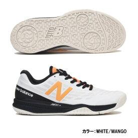 ニューバランス(Newbalance) テニスシューズ シューズ レディース (19fw) WHITE/MANGO ホワイト×マンゴー オムニ/クレーコート D 標準 wco796k1d【P50904】【SS1912】