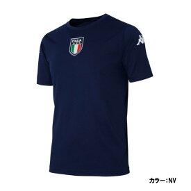 【最大4%OFFクーポン対象】【ネコポスOK】カッパ(Kappa) 半袖Tシャツ シャツ メンズ (20ss) ネイビー kma12ts45-nv