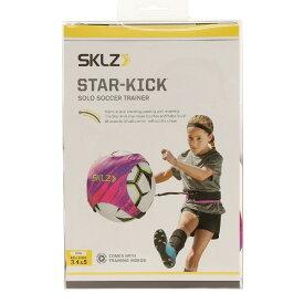スキルズ(SKLZ)サッカー 練習 グッズ STAR-KICK NEON スターキック ソロサッカートレーナー ピンク 自主練 034298【家トレ】