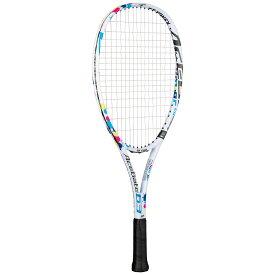 ヨネックス(YONEX) 軟式テニス ソフトテニス ラケット ACEGATE 63 エースゲート ジュニア (2020年モデル) ホワイト 身長120〜130cm(7〜8歳)対象 ジュニア育成シリーズ(張り上げ) ACE63G-011