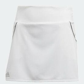 【ネコポスOK】アディダス(adidas) 子供用クラブスカート CLUB SKIRT ジュニア (20ss) ホワイト 130-160 FVW97-FK7145