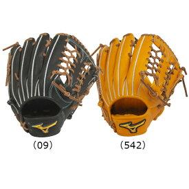 【BSSショップ限定モデル】ミズノ(mizuno) 硬式用 ミズノプロ フィンガーコアテクノロジー 硬式グラブ 外野手用 (20SS) ブラック/ビターオレンジ 右投用 1AJGH22107-09/542 野球用品