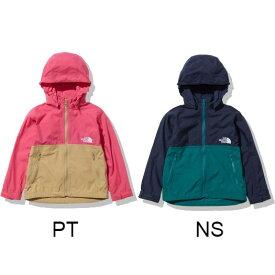 ザ・ノースフェイス (THE NORTH FACE) コンパクトジャケット Compact Jacket ジュニア (21aw) ピンク ネイビー NPJ21810