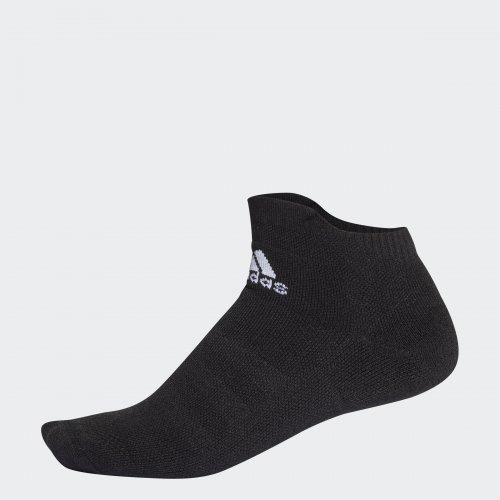 アディダス(Adidas)ALPHASKIN フルクッション ショートソックステニス キッズ メンズ レディース ブラック×ホワイト(18ss) ELH11-CV7595