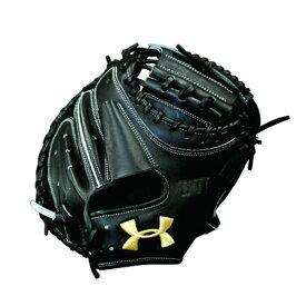 アンダーアーマー(UA)野球ミット(硬式右投げ捕手用)ブラック QBB0060-BLK 野球用品