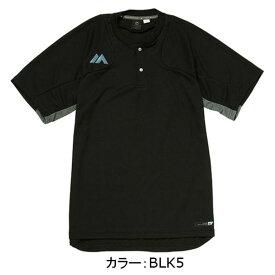 マジェスティック(Majestic) オーセンティック テック 2ボタントレーニングSS Tシャツ(半袖) シャツ (18SS) ブラック XM01MAJ023-BLK5【野球ウェア】【SS1906-50】