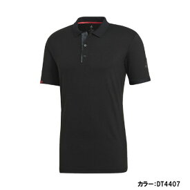 アディダス(adidas) MCODE ポロシャツ シャツ メンズ (19ss) ブラック/ナイトメット F13 吸汗速乾 fro37-dt4407【P8T】