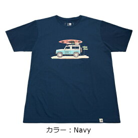 カリマー(karrimor) illustration T vol1 Tシャツ (19SS) ネイビー 2363-Navy