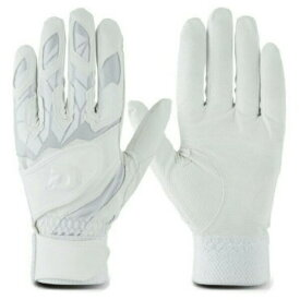 【3%OFFクーポン発行中】ウイルソン(wilson) ディマリニ バッティンググラブ ダブルベルト 両手用 手袋 (19SS) ホワイト WTABG1001