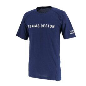 ゼット(ZETT) 半袖Tシャツ BEAMS DESIGN 野球 (19ss) ネイビー ビームス デザイン プロデュース BOT392T3-2900【ss200350】