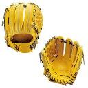 ゼット(ZETT) 軟式野球内野手用グラブ プロステイタス グローブ (19fw) トゥルーイエロー×ブラウン BRGB30956-5437