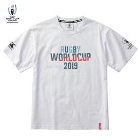 ラグビーワールドカップ2019(TM)日本大会 カンタベリーオフィシャルライセンス商品 カンタベリー(canterbury) RWC2019 GRAPHIC TEE Tシャツ (19ss) ホワイト VWD39421-10