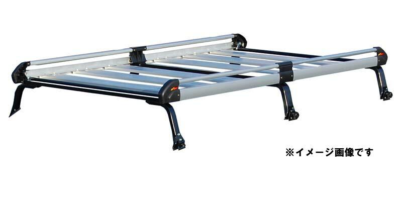 【代引き不可】【送料無料】TUFREQ タフレック 精興工業 Hシリーズ スズキ エブリィ DA17V/DA17W ハイルーフ H27/2〜 ルーフキャリア[6本脚タイプ] HH437A
